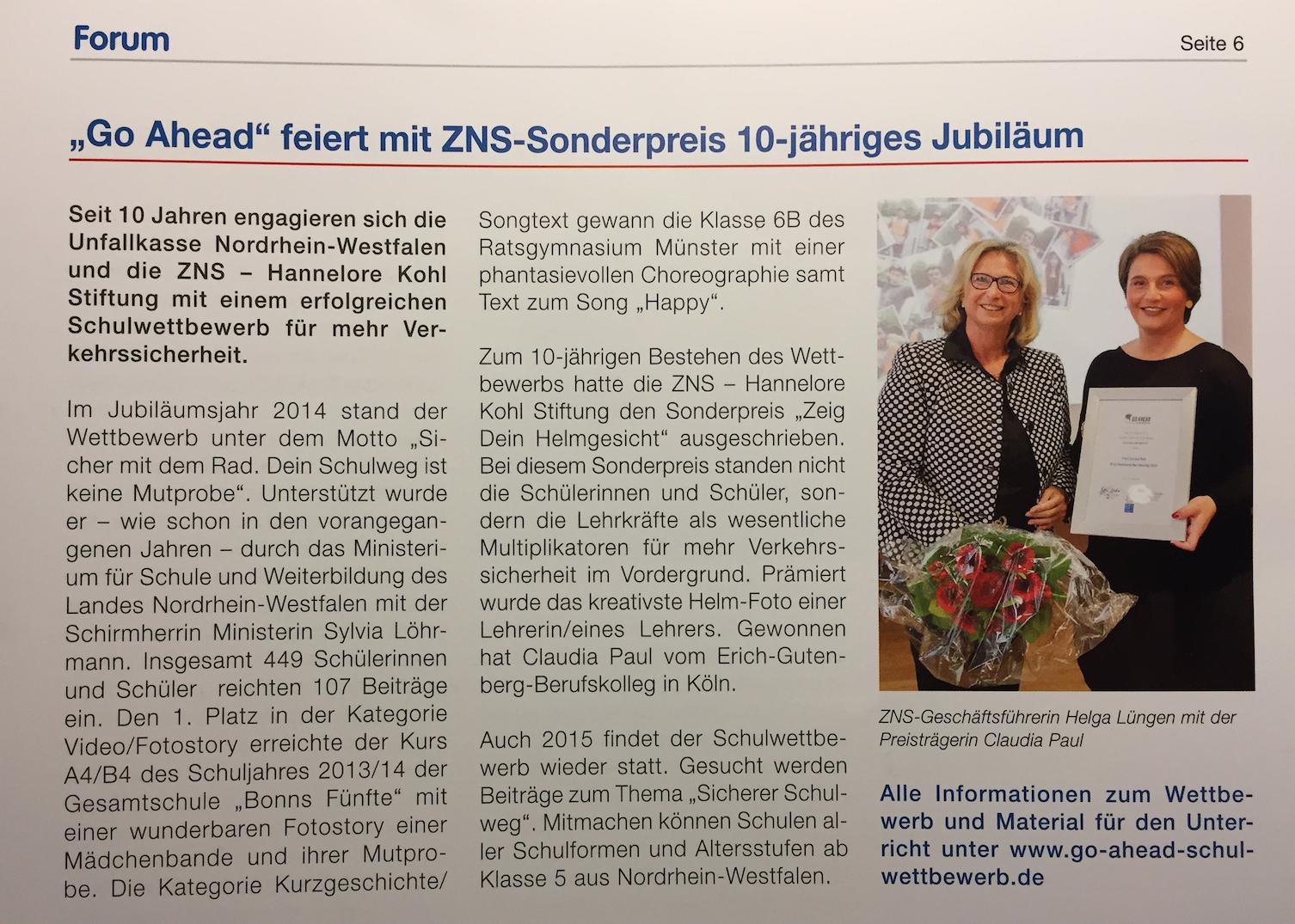 Artikel Forum ZNS Preis